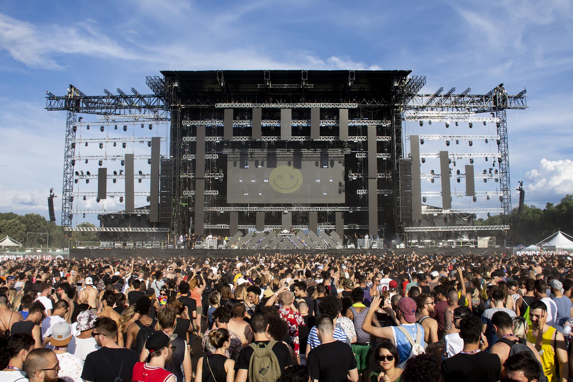 Decibel Open Air Festival a K-array hangzásával