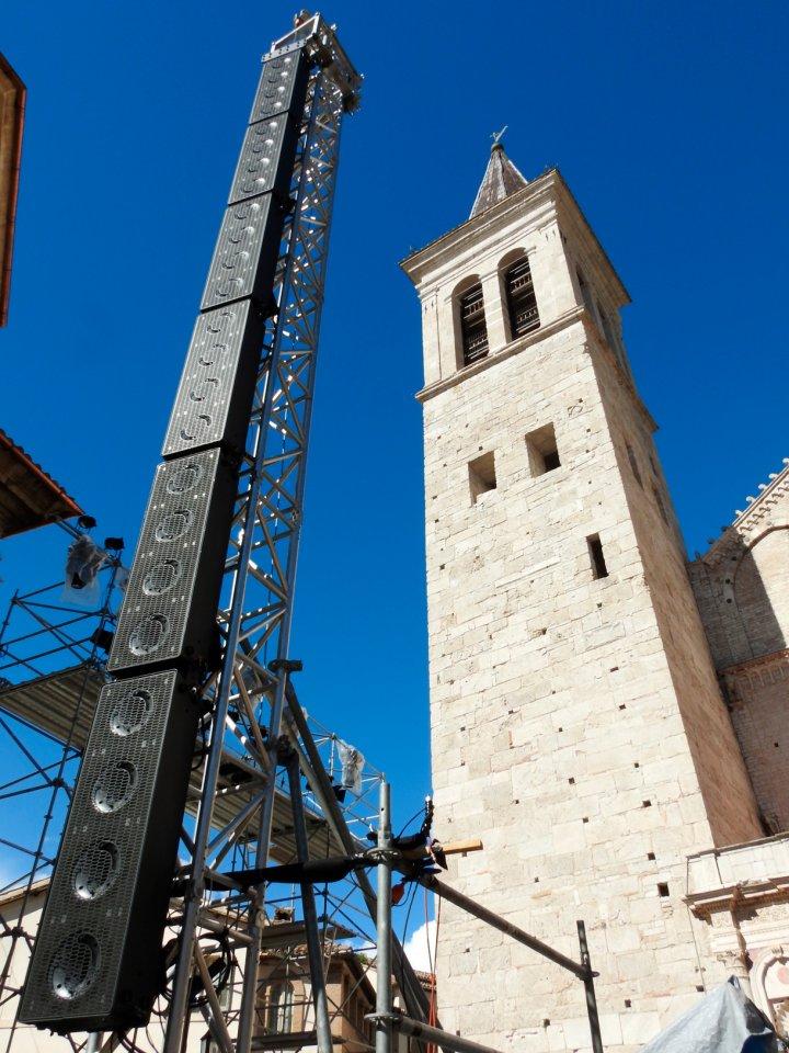 Festival dei Due Mondi a K-array hangzásával